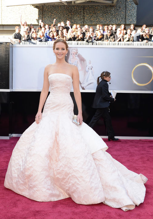 Jennifer Lawrence, Dior Haute Couture