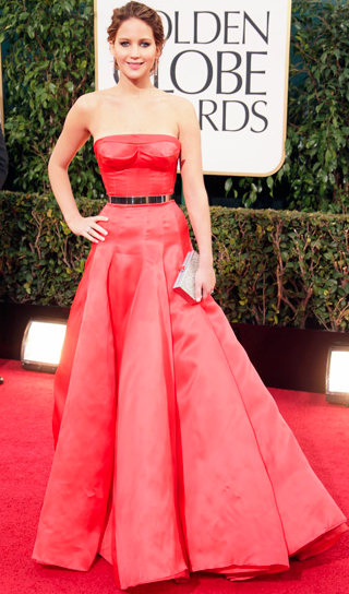 2013 Golden Globes, Christian Dior Haute Couture