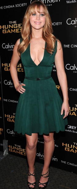Hunger Games New York Premiere, Calvin Kline