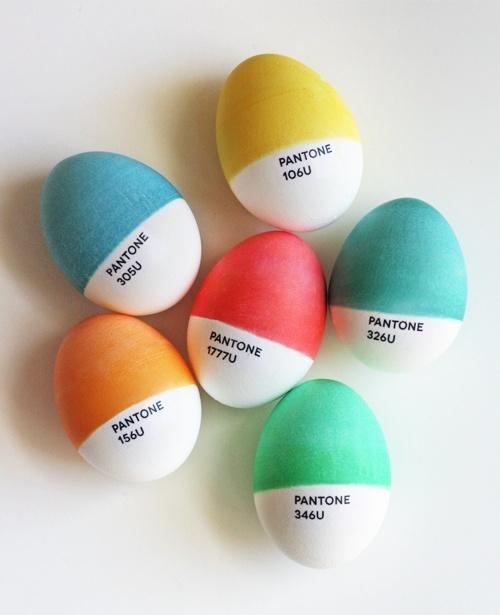 Pantone Eater Eggs