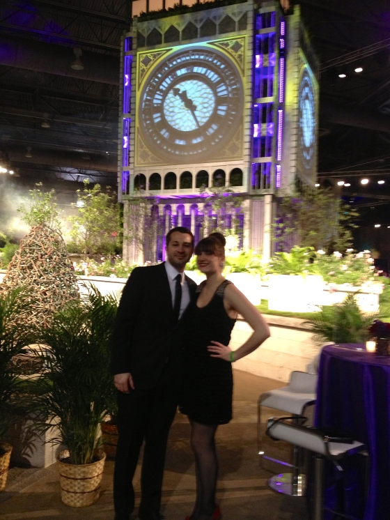 Big Ben at the Philadelphia Flower Show