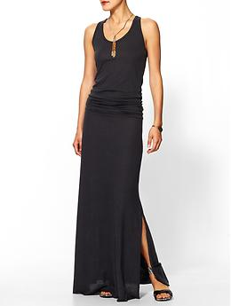 Go Fish Maxi Dress - Eco true black