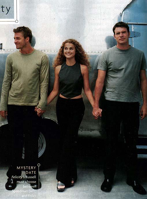 Felicity, Noel, and Ben